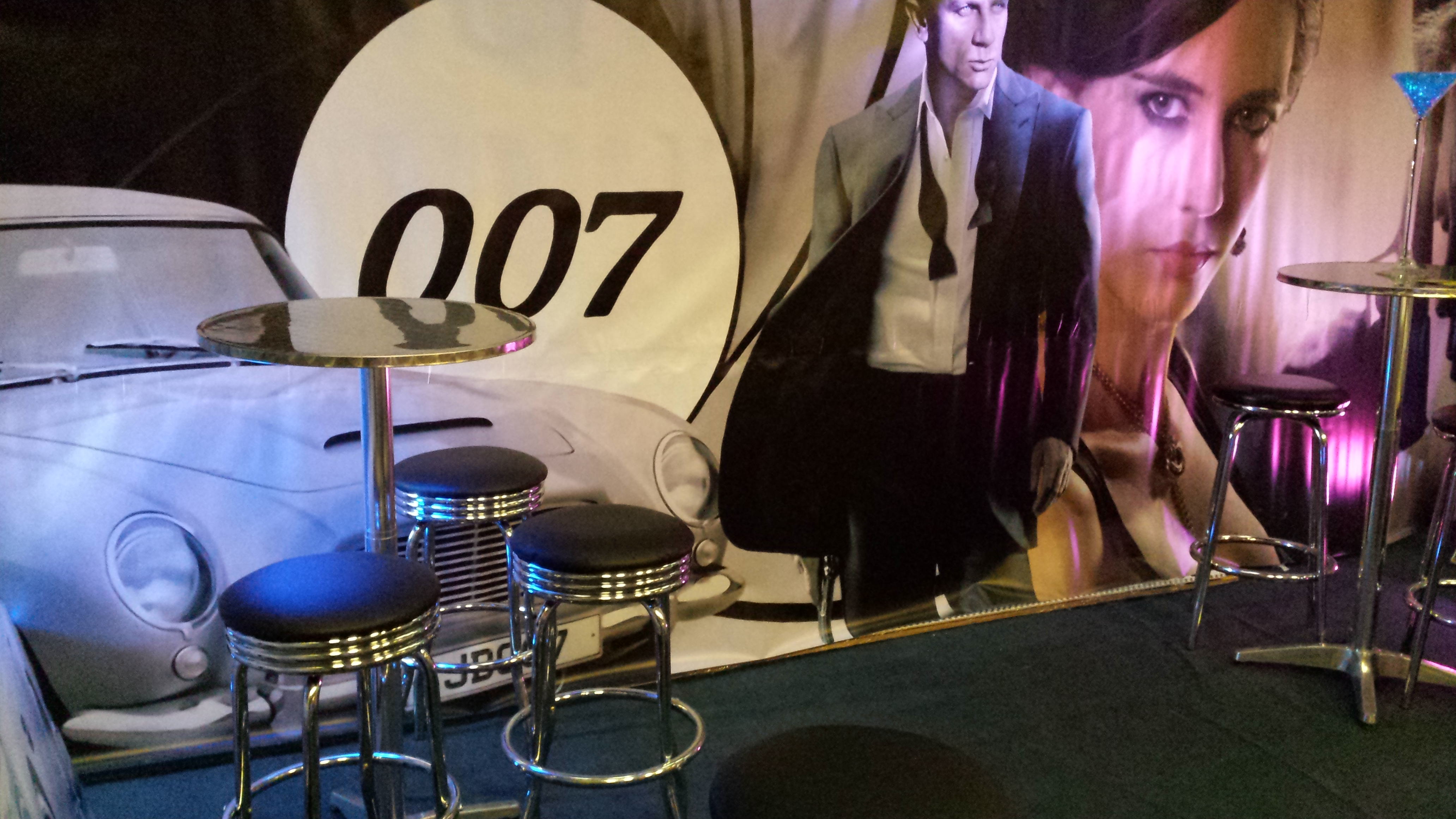 James bond 007 themed event james bond theme party for 007 decoration ideas