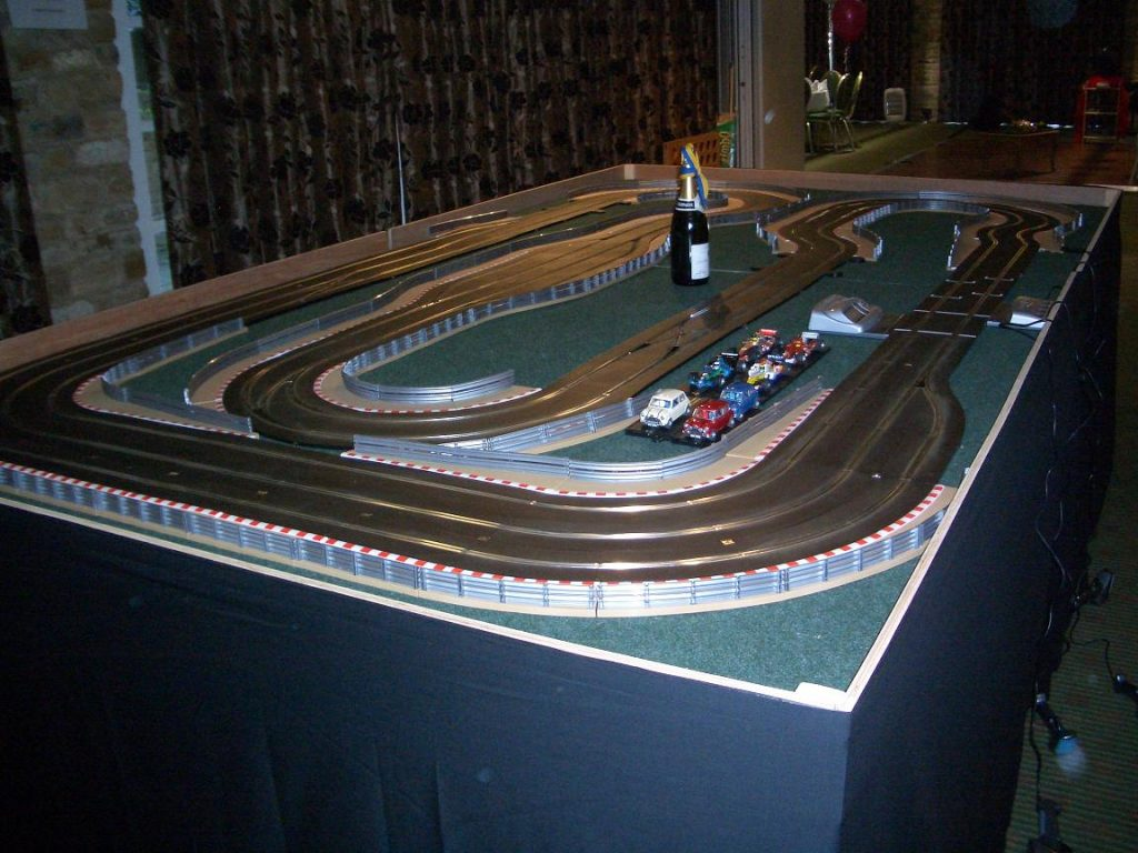 Giant Scalextric Hire Ace Tones Group