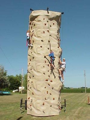 Mobile Rock Climbing Wall Ace Tones Group