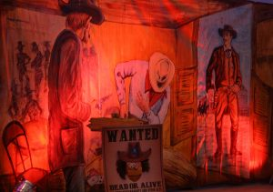 Wild West themed party backdrop