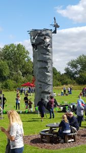Corporate days out - mobile climbing wall
