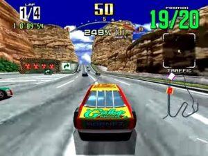 Arcade Machine Hire Daytona USA Game