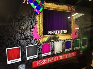 Photo booth hire (Inside the booth)