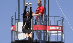 mobile zip wire hire