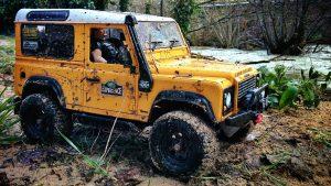 Land Rover Remote Control Car Hire
