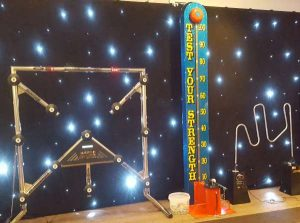 High Striker hire for an exhibition