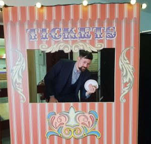 Greatest Showman Ticket Booth Prop