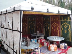 festival tent furniture