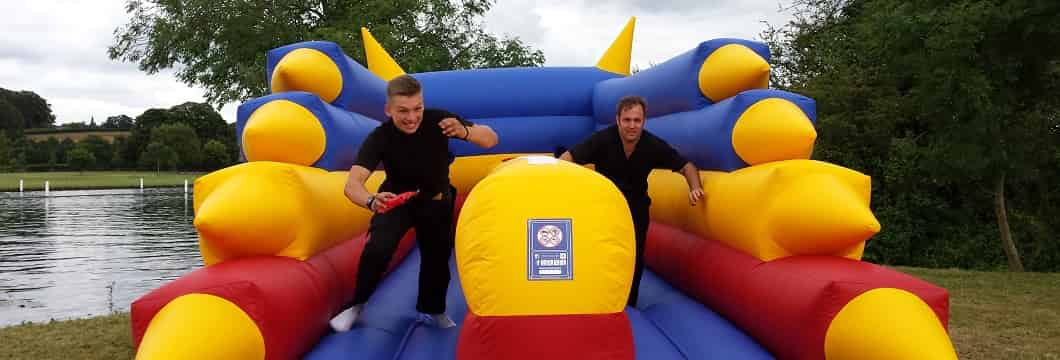 bungee run hire
