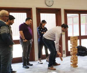 Team building day out - giant games