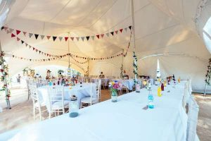 Capri marquee furniture hire
