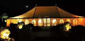 Traditional Pole Marquee Hire